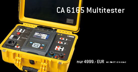 CA 6165 Multitester