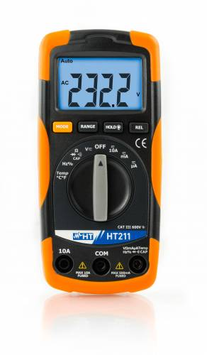 HT 211 Digitales Multimeter mit Temperatur-Funktion