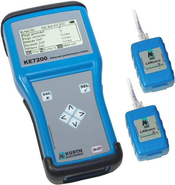 KE 7200 Ethernet Performance Tester